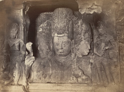 Elephanta Rock Temple - The Trimurti